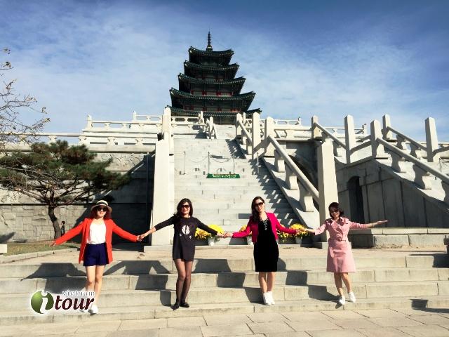 Du lịch Hàn Quốc: Seoul - Nami - Everland 5 ngày (7C)