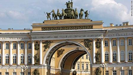 Du lịch Nga: Moscow - Saint Peterburg, 8 ngày, SU