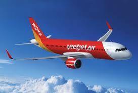 Các chuyến bay nội địa từ Vinh của Vietjet Airs