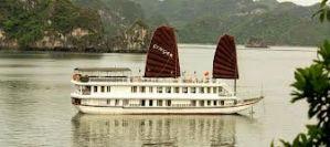 Du lịch Hạ Long: Du thuyền Ginger