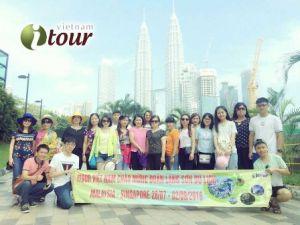 Du lịch Singapore - Malaysia 6 ngày, 2 đêm Singapore; VN