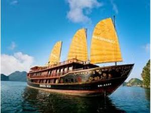 Du lịch Hạ Long: Du thuyền Indochina Sails