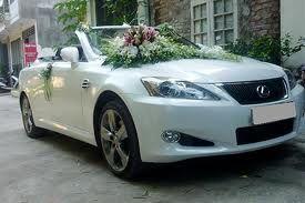 Thuê xe cưới hỏi Lexus IS250 mui trần
