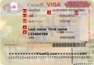 Visa du lịch Canada