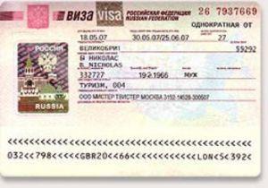 Visa Du lịch Nga