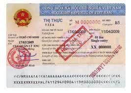 Visa nhập cảnh Việt Nam cho người nước ngoài